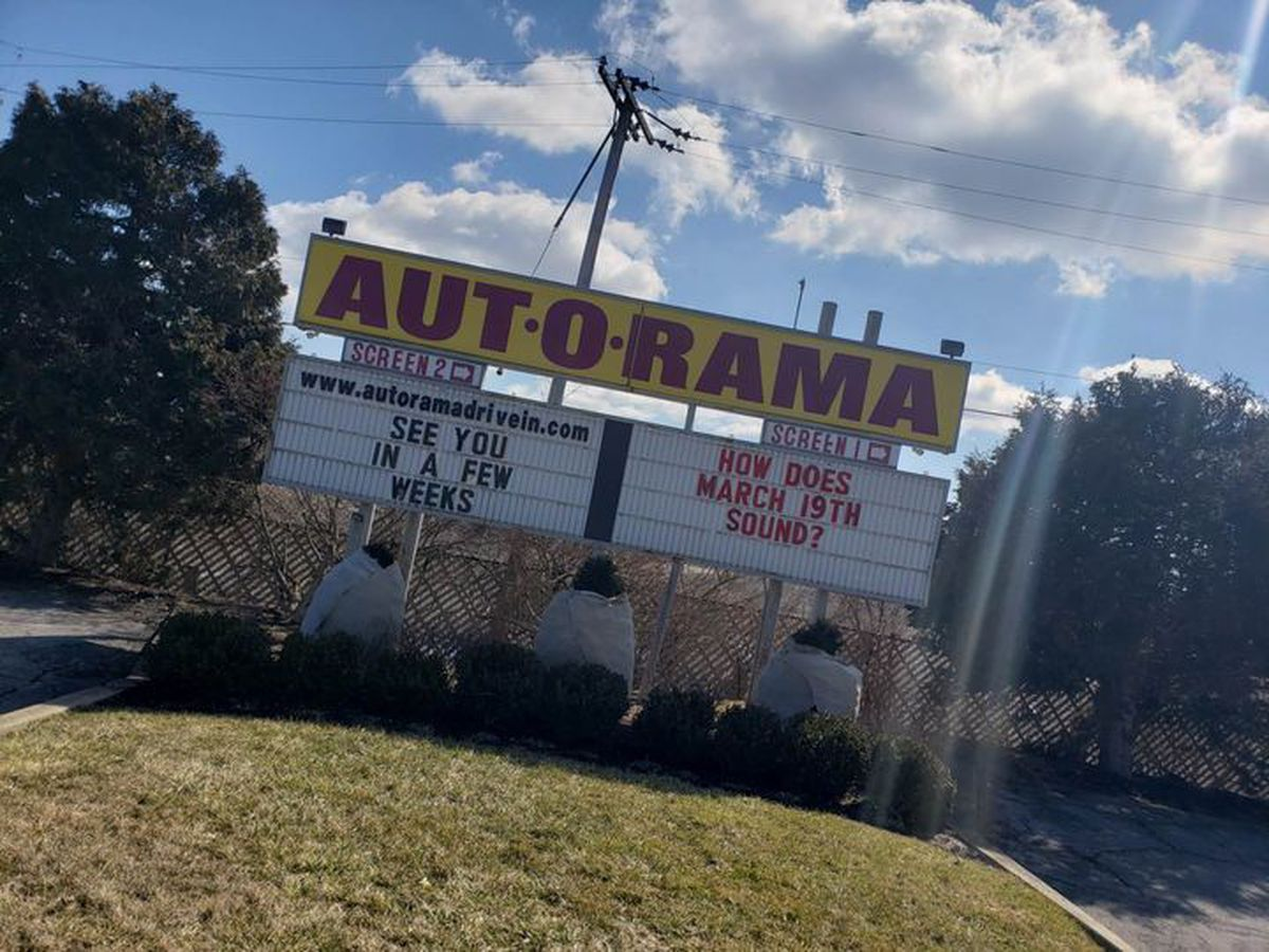 Aut-O-Rama Drive-In to open for the season on March 19