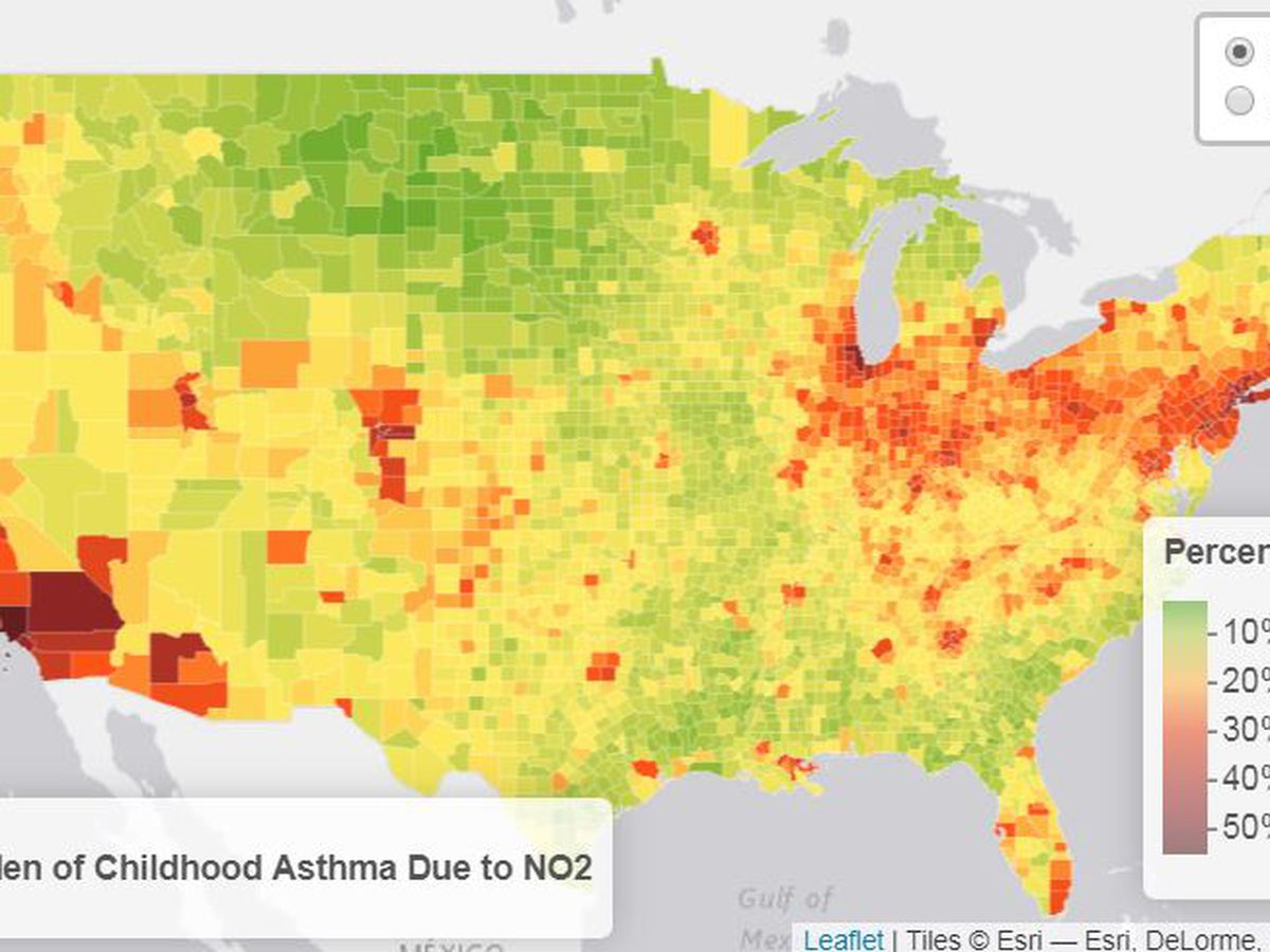 Cleveland ranks as fifth most challenging city for people with asthma