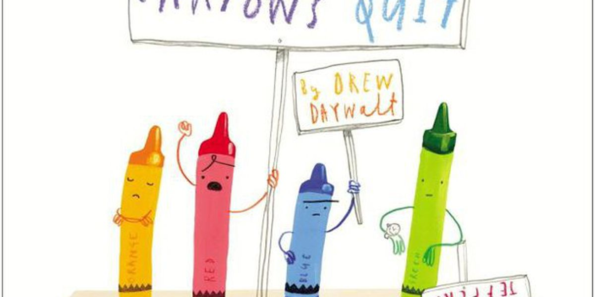 'The Day the Crayons Quit' is featured on Story Time with Jamie Sullivan