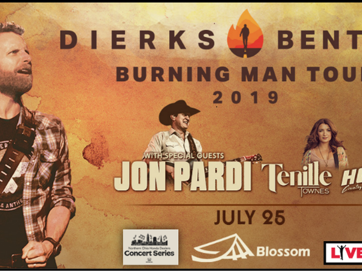 Dierks Bentley Ticket Giveaway