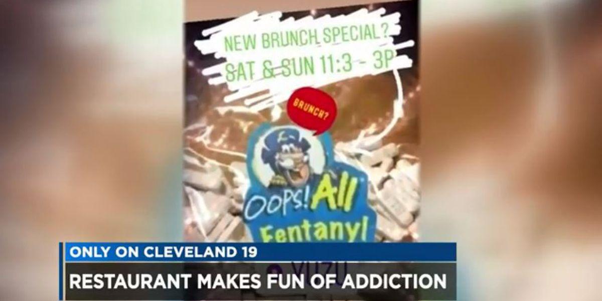Restaurant owner responds to backlash over Instagram posts many say target addicts
