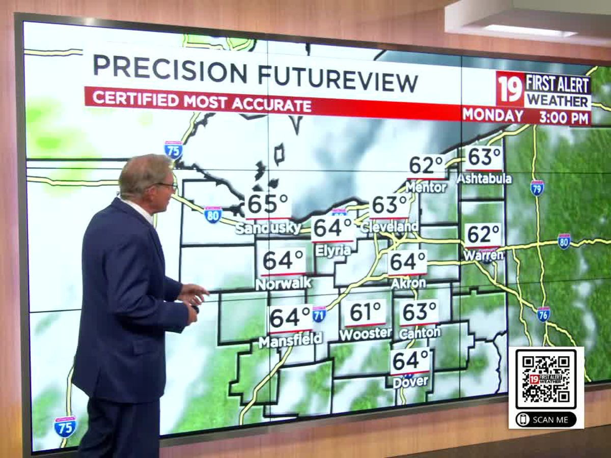 19 First Alert Weather: Wintry mix with snow accumulation possible on Wednesday