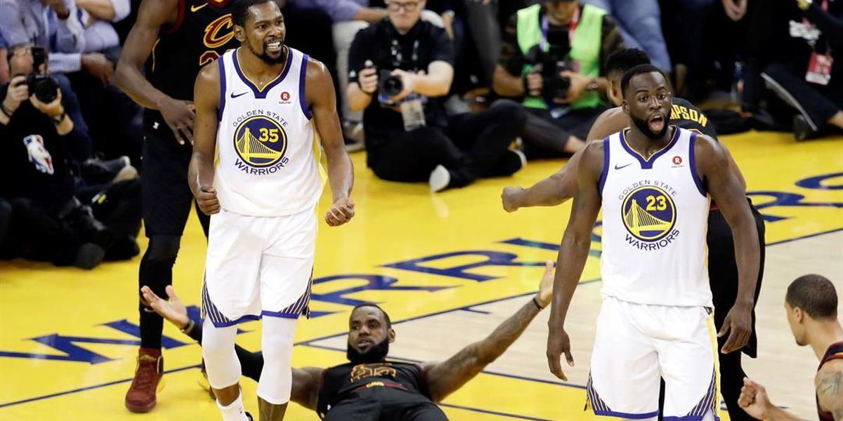 Cleveland Cavaliers lose Game 3 of the NBA Finals 110-102
