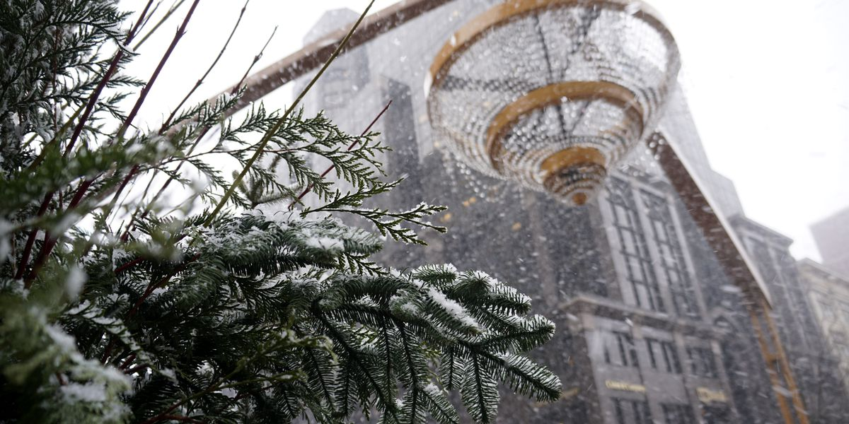 Many in Cleveland area will wake up to a White Christmas with 1-7 inches of snow, bitter cold
