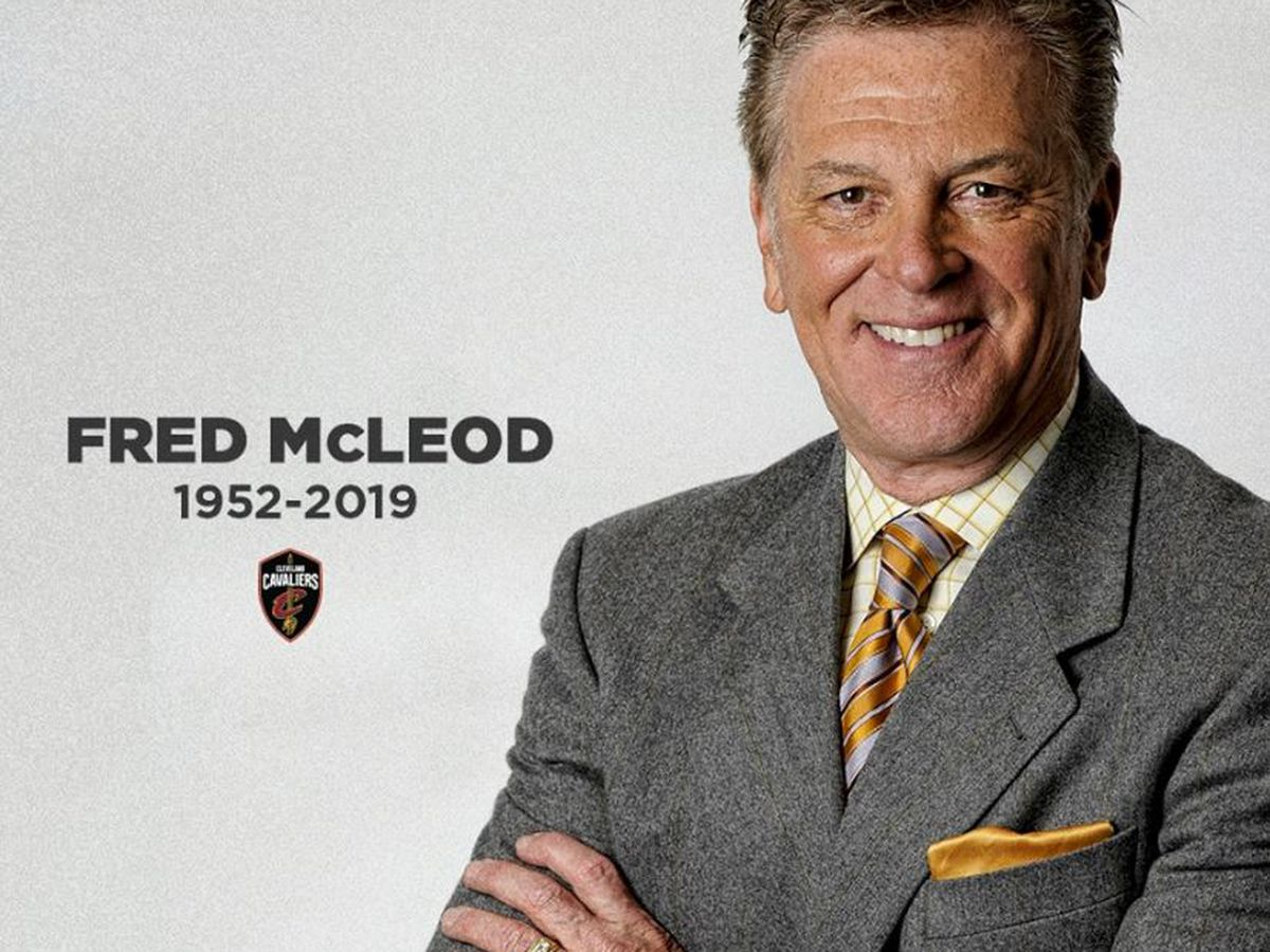 Cleveland Cavaliers give emotional tribute to Fred McLeod (video)
