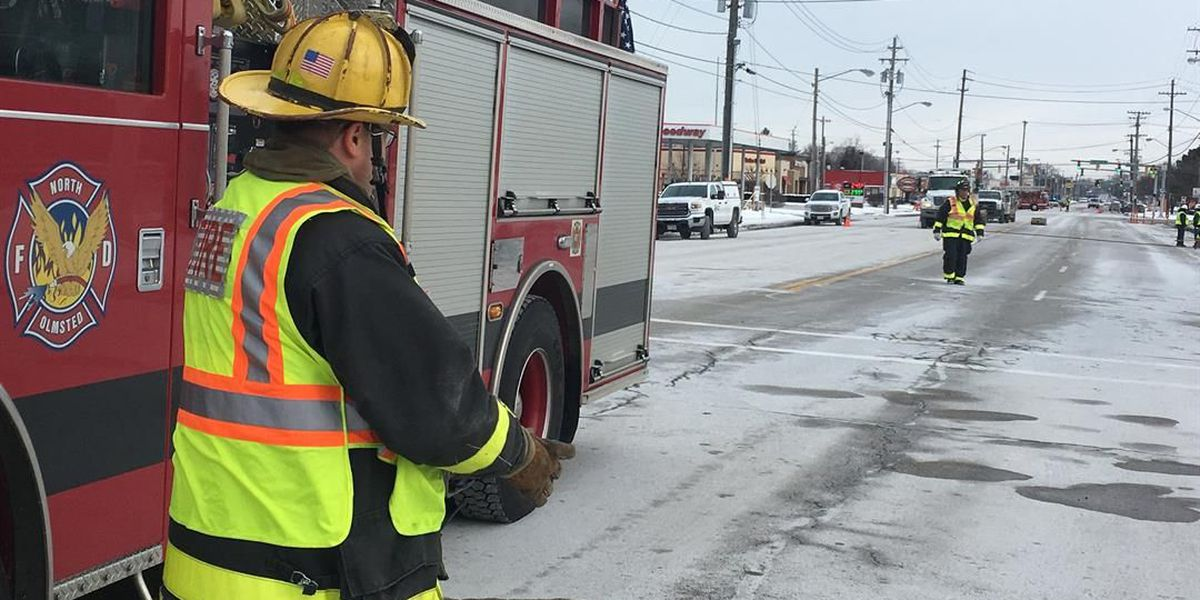 North Olmsted gas leak shuts down portion of Lorain Road