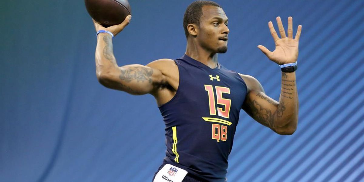Mitchell Trubisky and Deshaun Watson will attend the NFL Draft