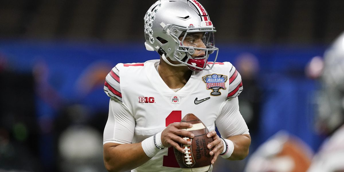 Justin Fields WOW's 'em at Buckeyes Pro Day