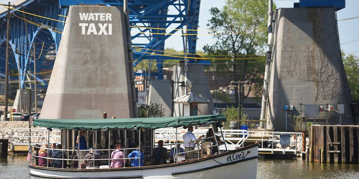 Cleveland Metroparks water taxi free for the 2018 season