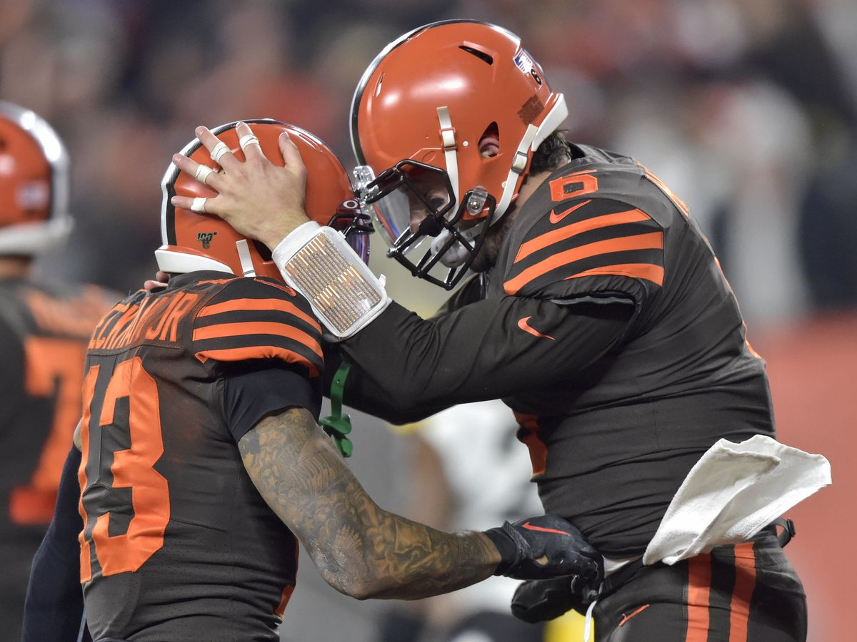 Cleveland Browns win 21-7, after strong defensive showing against Pittsburgh Steelers