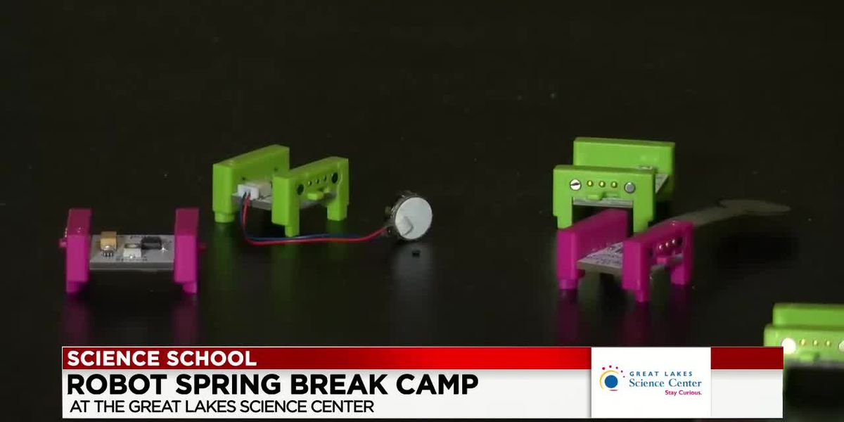 19 First Alert Science School: Robot spring break camp at Great Lakes Science Center