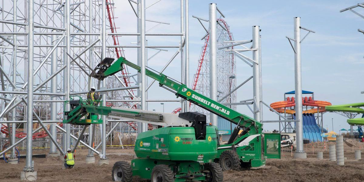 Construction underway on Cedar Point's new water park