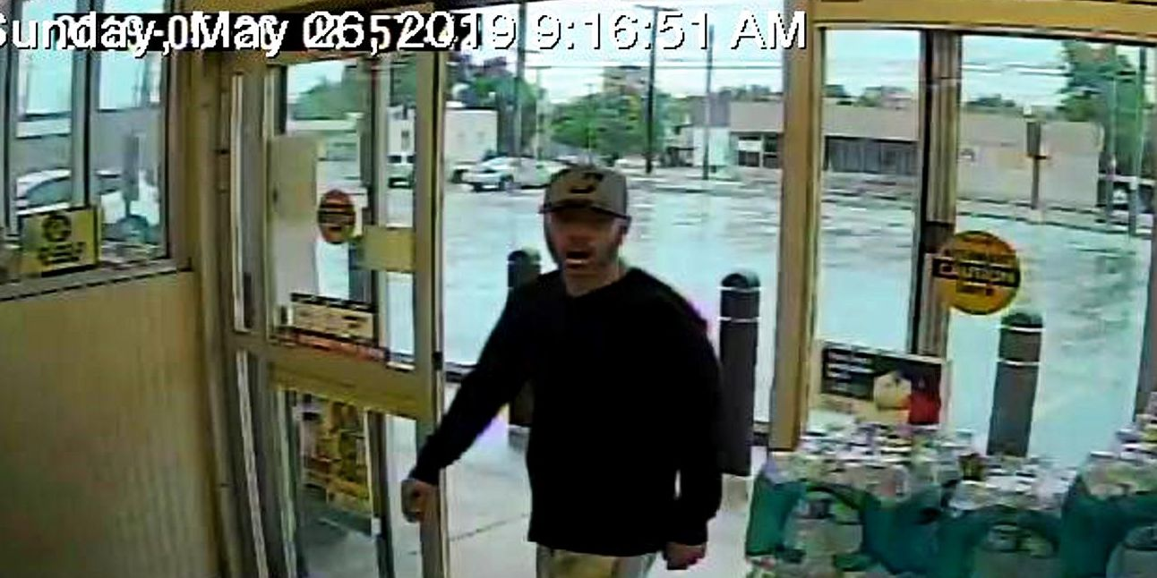 Cleveland police on the hunt for man accused of robbing Rite Aid with a gun