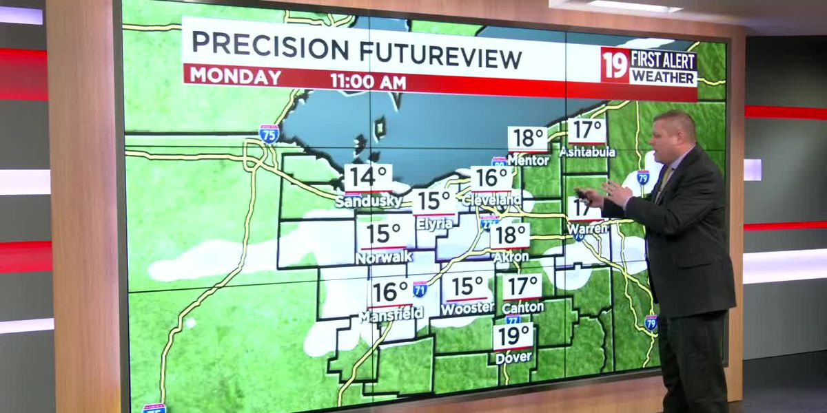 Northeast Ohio Weather: Cold pattern rolls on; snow on the way tonight; temperatures in the 20s this afternoon