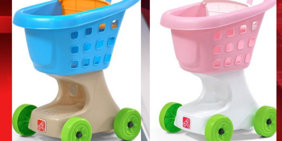 Streetsboro toy company recalls toddler toy shopping cart