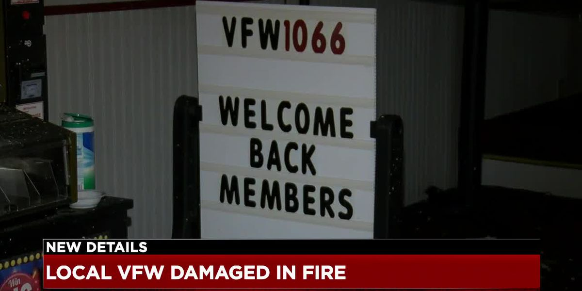 Barberton VFW damaged by fire