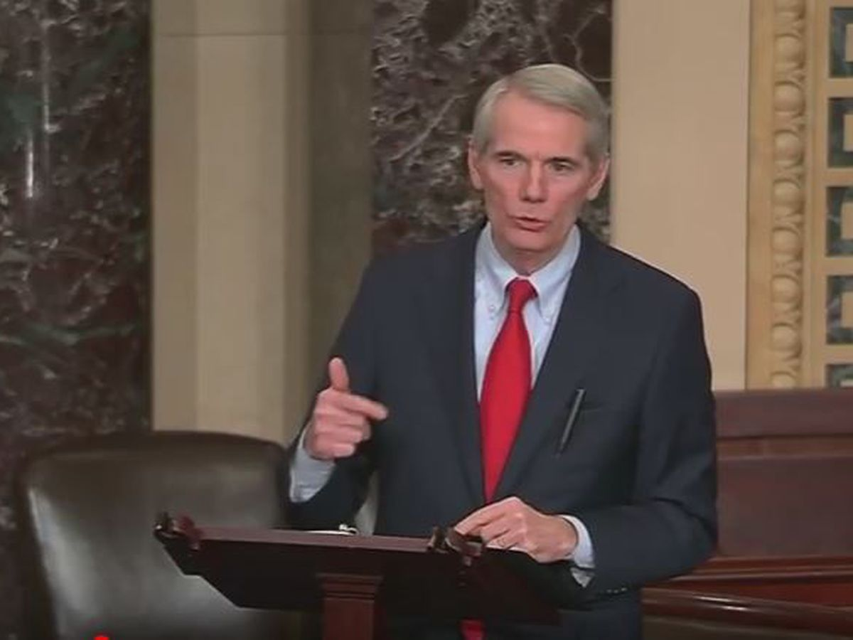 "Ohio U.S. Sen. Rob Portman won't run for re-election; says ""partisan gridlock"" has worsened"