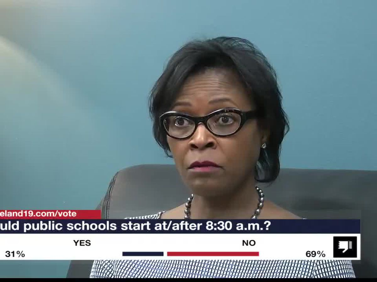 Ohio Sen. Sandra Williams wants all public schools to start after 8:30 a.m.