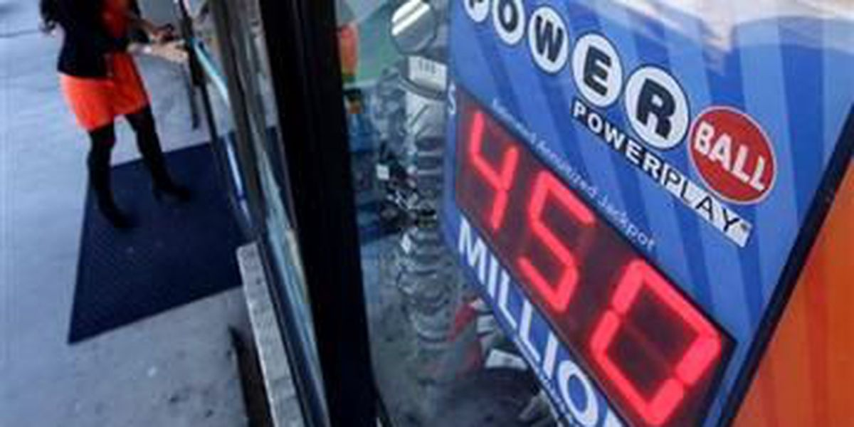 Winning Powerball numbers have been drawn