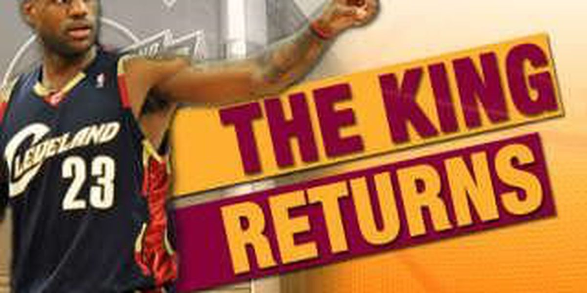 Akron Zoo helps welcome LeBron home with discounted admission