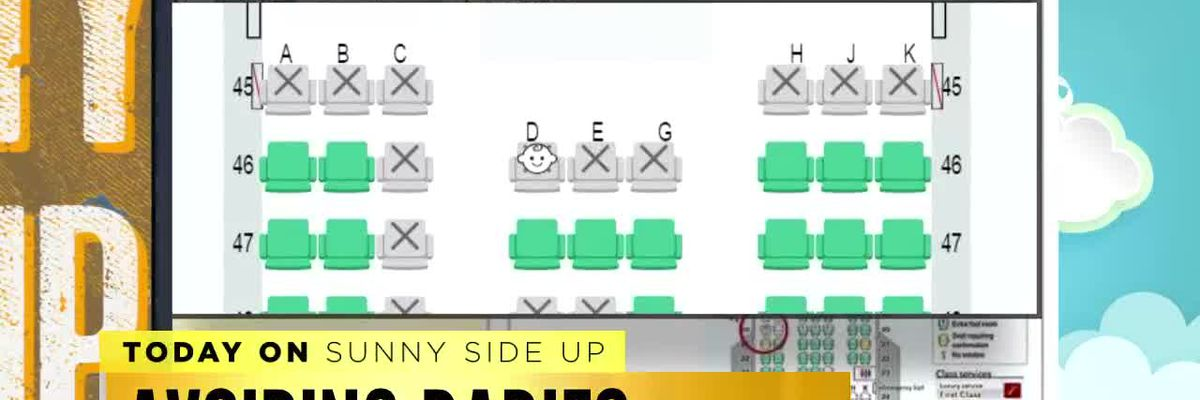 Sunny Side Up: Japanese airline offers seating map to avoid babies