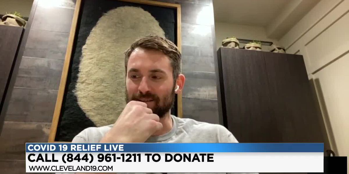 Cleveland Cavaliers Kevin Love shows why it's so important to give at this time