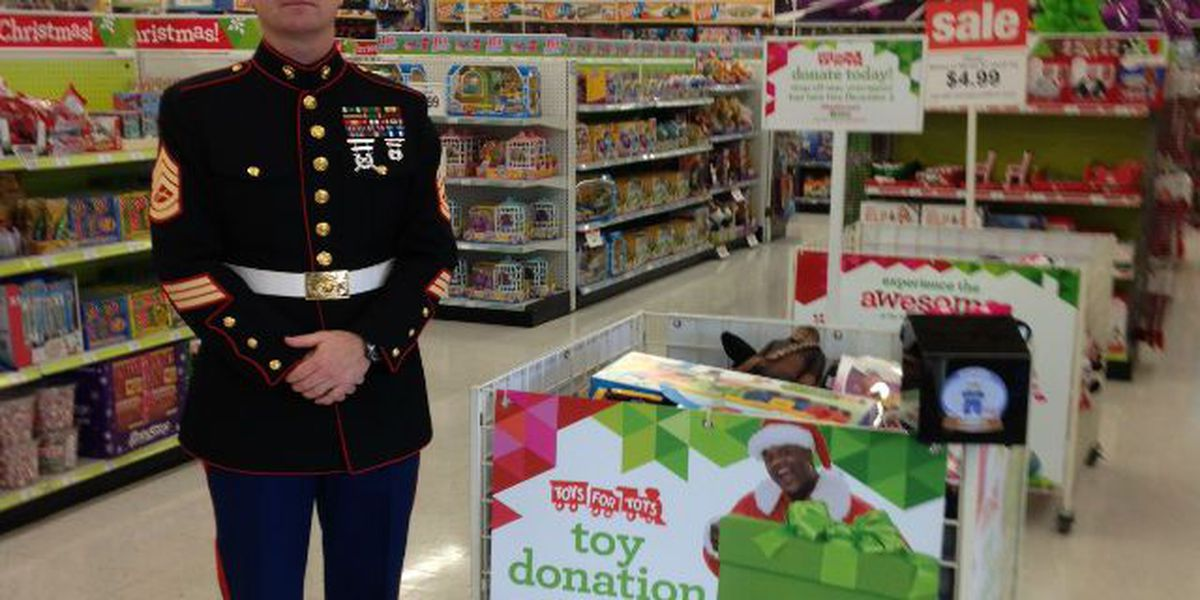 Shaq teams up with Toys for Tots this holiday season