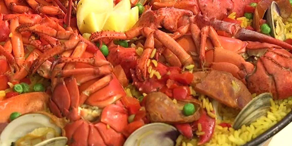 From the pan to the palate: Mallorca dishes delicious paella, and shrimp with garlic sauce