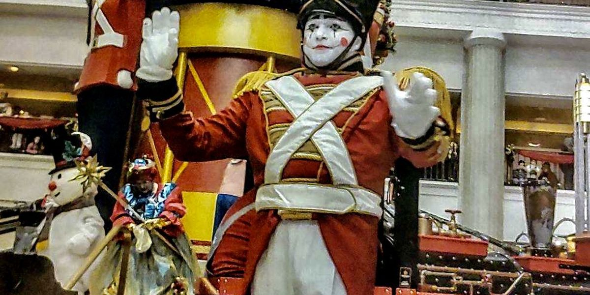 3 shows only for Cleveland's Tower City Toy Soldier this year, here's the schedule
