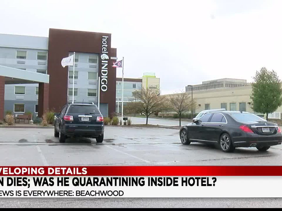 Man who complained of COVID-19 symptoms, found dead in Beachwood hotel