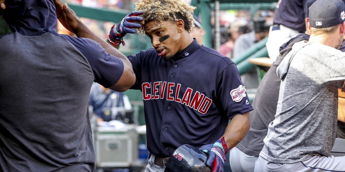 Indians wearing road Cleveland jerseys for Home Opener