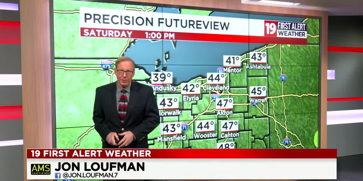 Northeast Ohio weather: Taste of spring Sunday followed by another cold blast