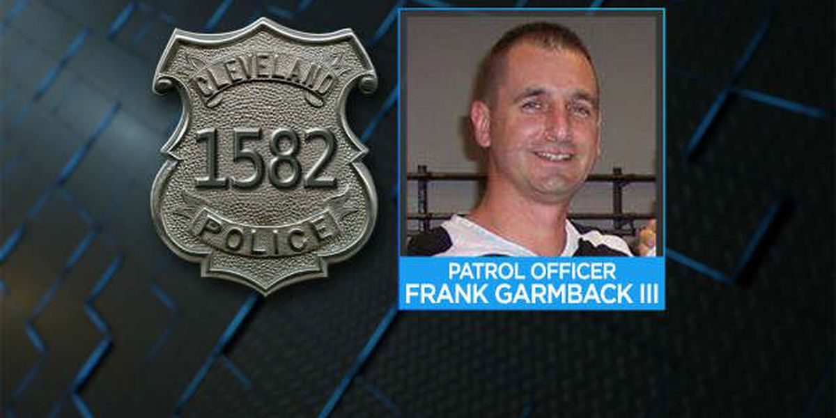 Who is Frank Garmback, the officer in Tamir Rice shooting?