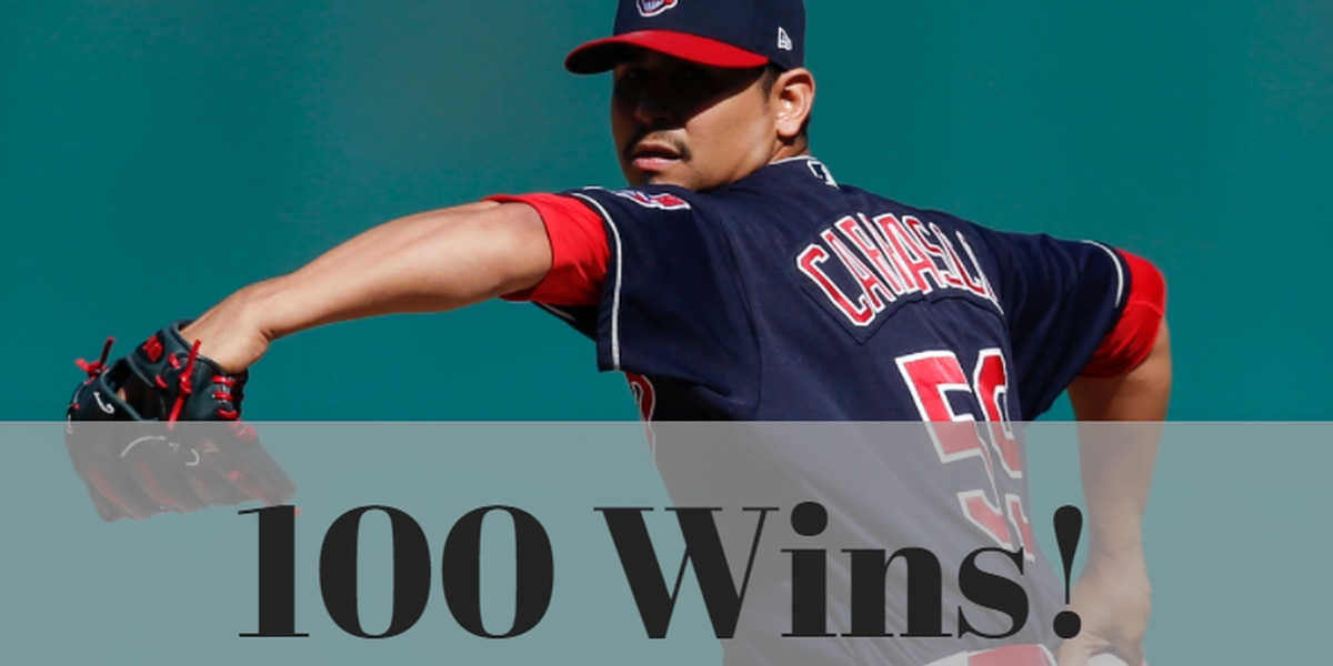 Carlos Carrasco strikes out 14, Indians beat Twins for 100th win