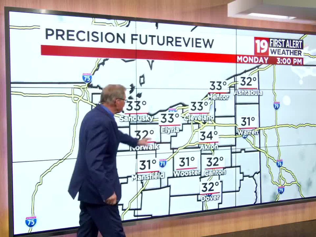 Northeast Ohio Weather: Seasonable January weather returns