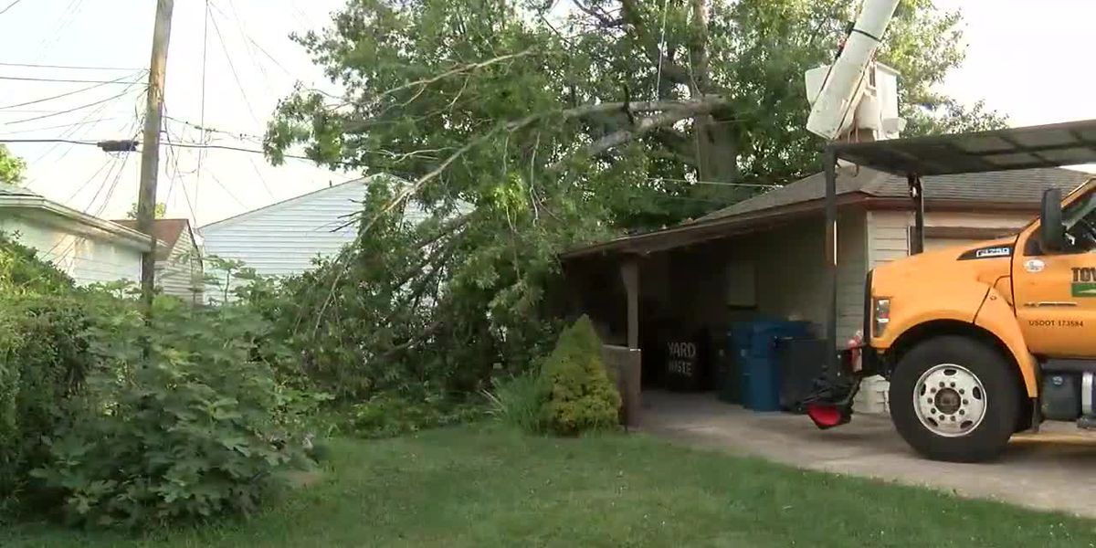 Severe thunderstorms in Northeast Ohio leave path of destruction in their wake