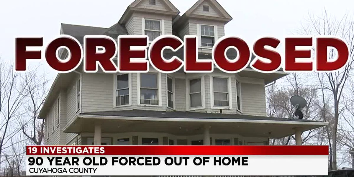 90-year-old woman realizes she's been paying to live in a foreclosed home