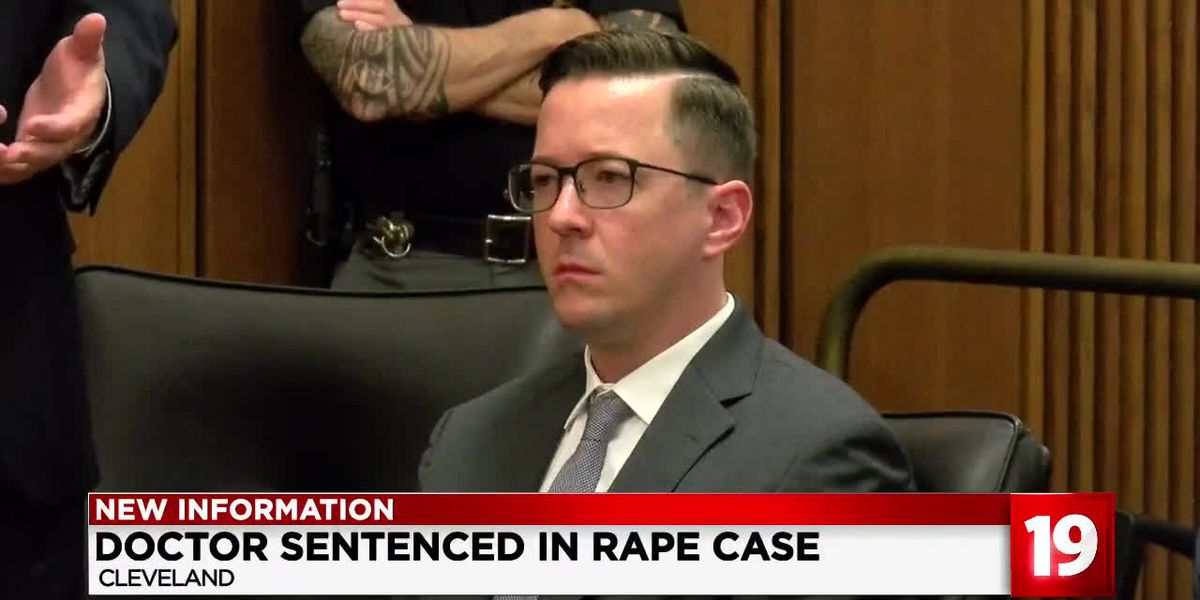Doctor convicted of raping co-worker after party sentenced to 3 years in prison