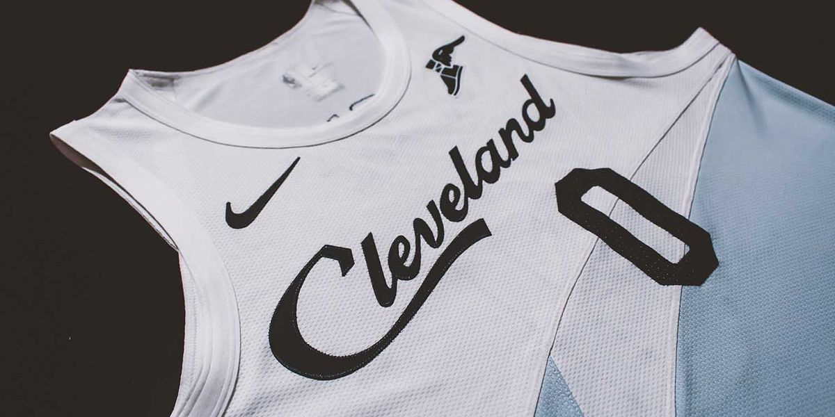 f93038ef092a Cleveland Cavaliers unveil new uniform earned with 2018 playoff appearance  (photos)