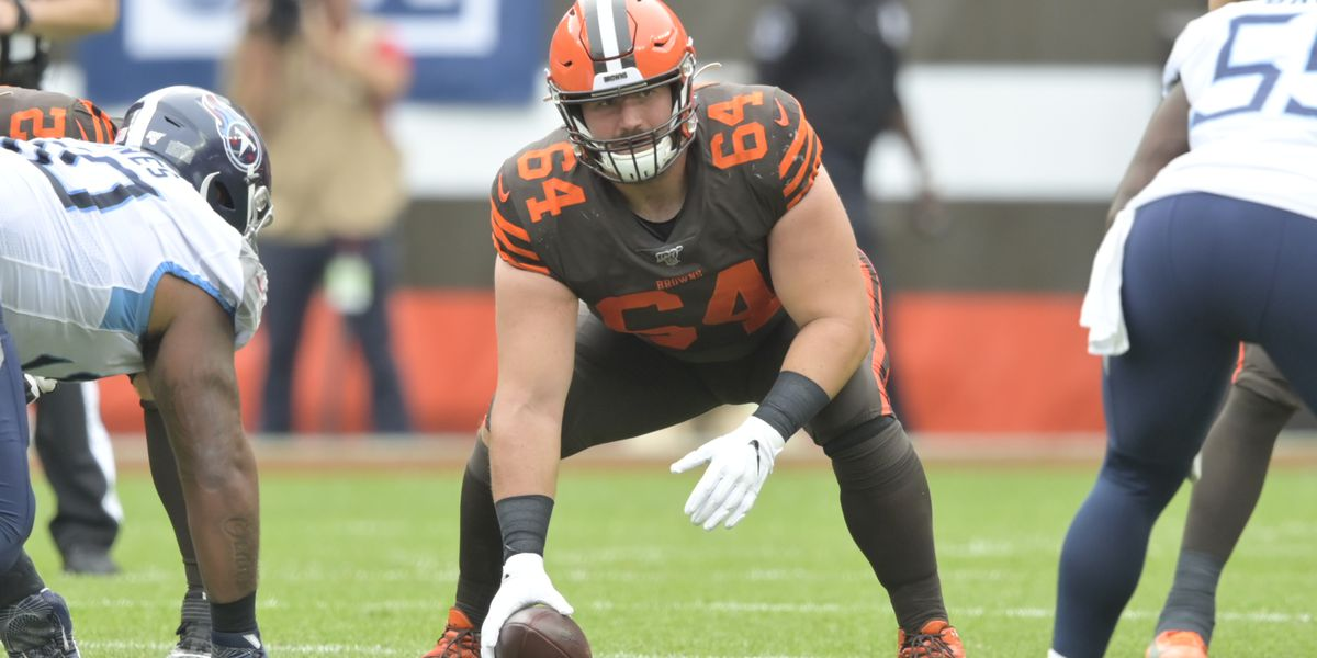Cleveland Browns center JC Tretter elected new NFLPA president