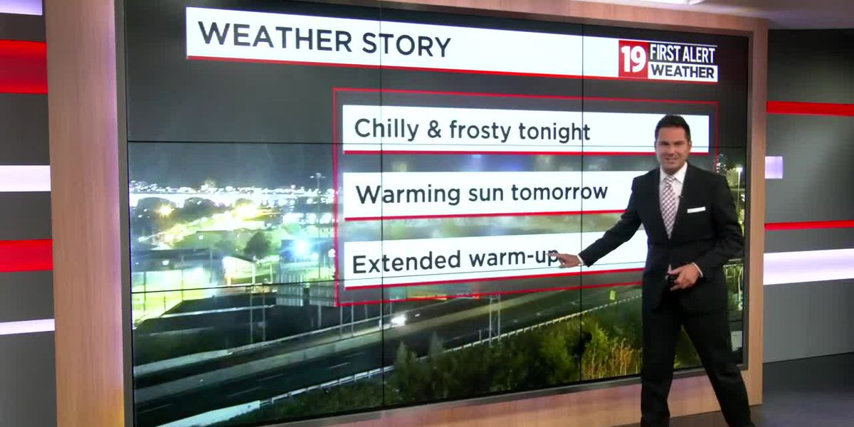 Northeast Ohio weather: Frost Advisory tonight; slow warming trend going forward