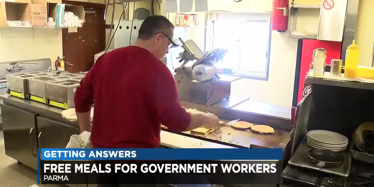 Parma family restaurant offers free meals to federal workers
