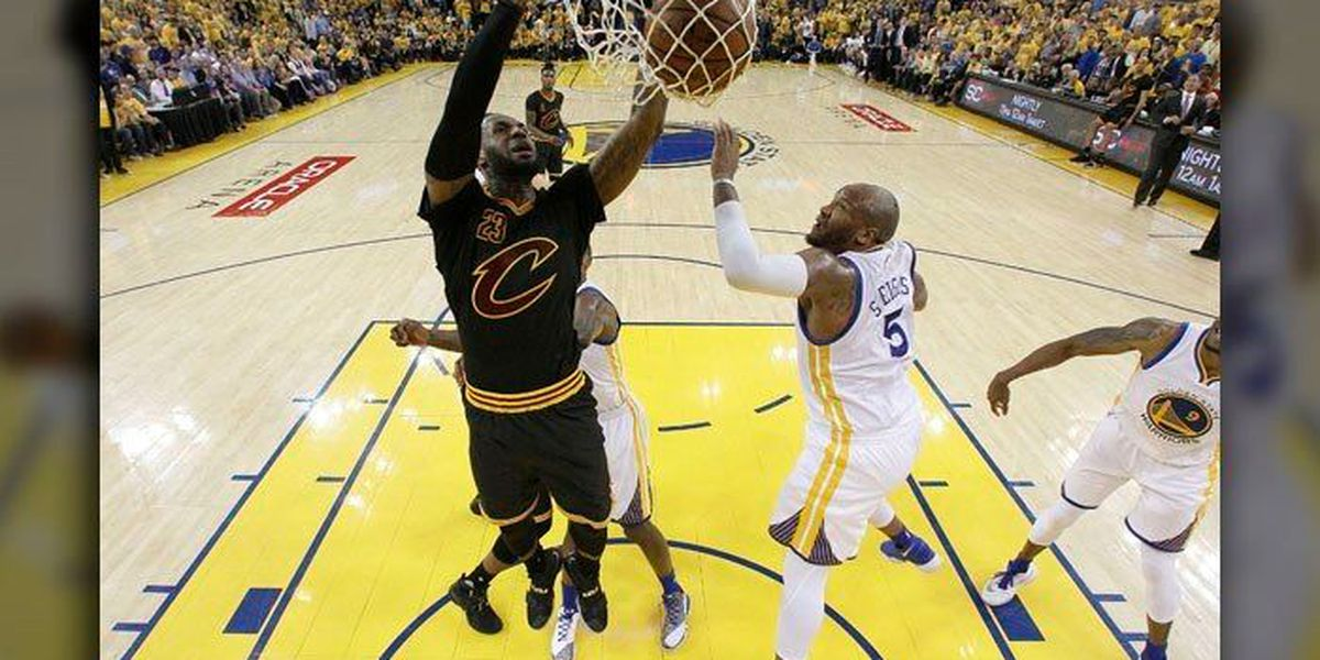 Tony Z on Game 5: LeBron (41) Kyrie (41), 1st teammates with 40 points in NBA Finals