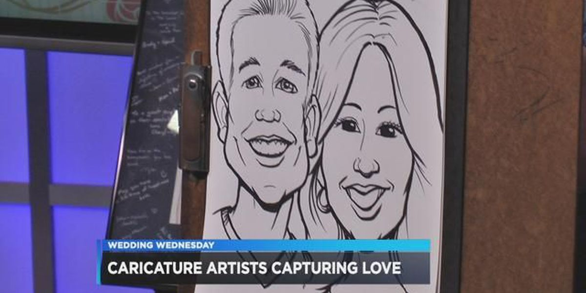 Wedding Wednesday, Week #14: How about a caricature for your special day?