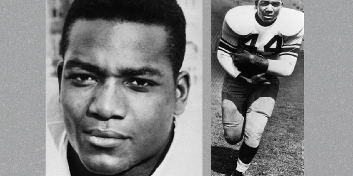 Jim Brown honored at National Championship game as greatest college football player of all time