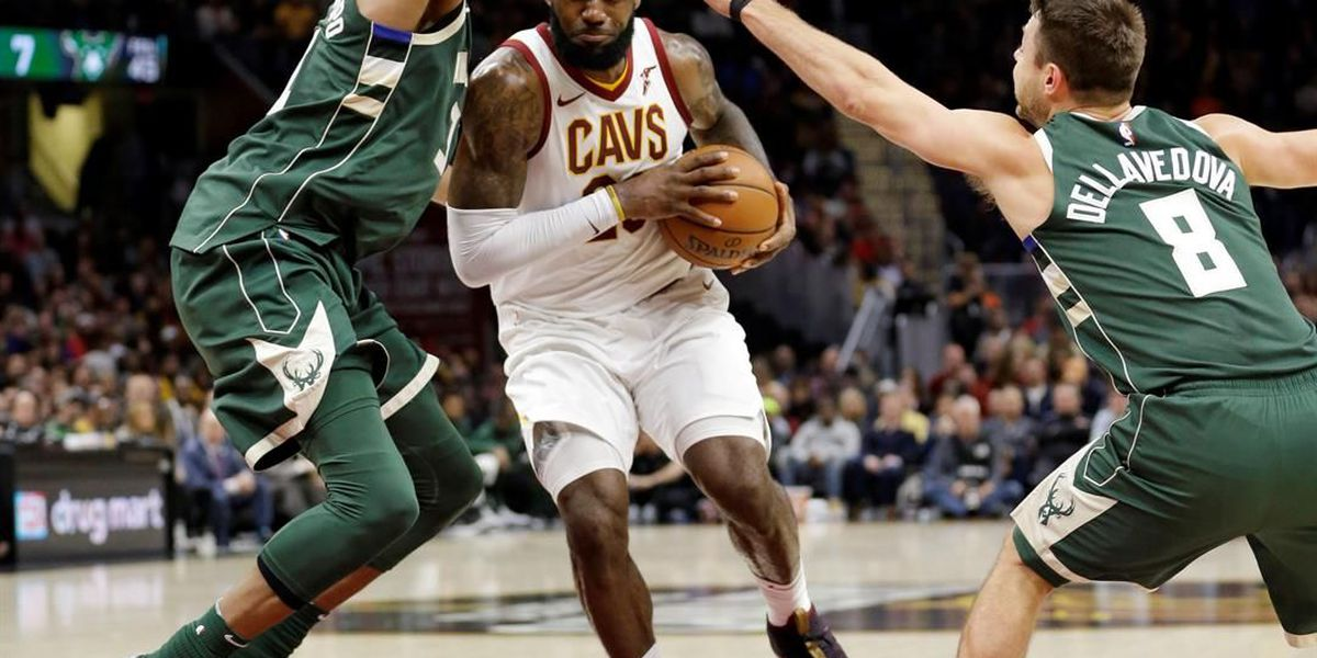 Kevin Love, LeBron James push Cleveland Cavaliers past Bucks 124-119