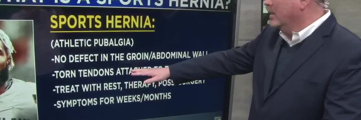 Explaining a sports hernia, and how it can impact a player like Browns WR Odell Beckham Jr.