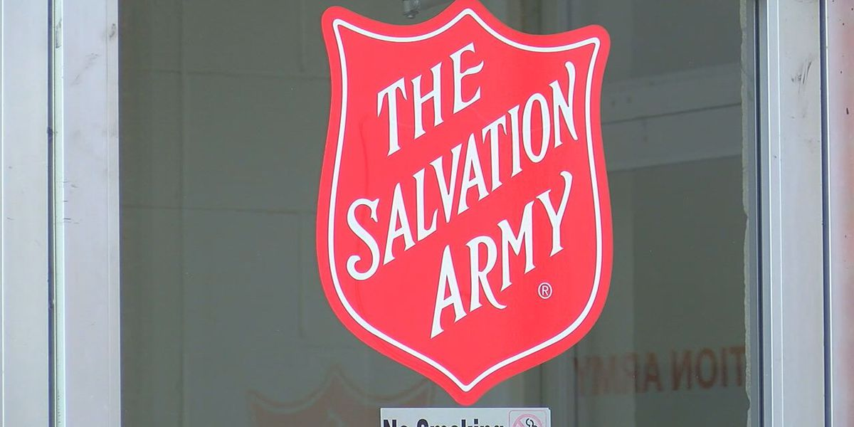 Christmas assistance registration with the Salvation Army