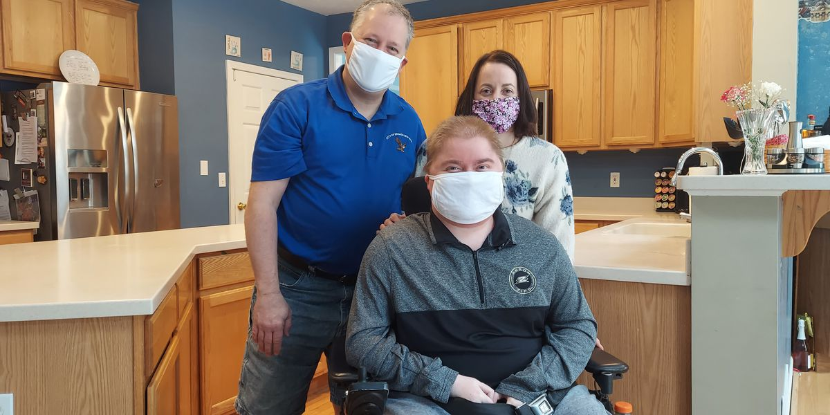 Northeastern Ohio man with muscular dystrophy prepared for COVID-19 vaccine