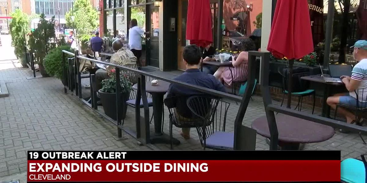 City of Cleveland opening up public spaces to help restaurants